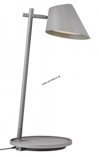 Stolná lampa STAY Grey H47
