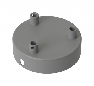 Úchyt stropný Calex metal ceiling rose 100mm 3 hole, concrete