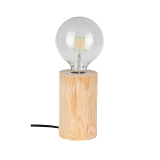 Stolná lampa TRABO TABLE Natural Pine H15