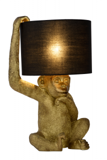 Stolná lampa EXTRAVAGANZA CHIMP Gold/Black