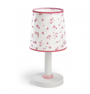 Stolná lampa DREAM FLOWERS PINK 1/E14