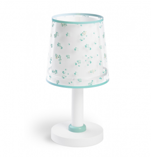 Stolná lampa DREAM FLOWERS GREEN 1/E14