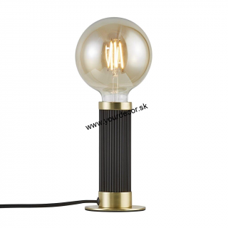 Stolná lampa GALLOWAY Black/Brass