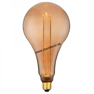 Žiarovka LED A165-3,5W RETRO Gold E27 DIMM